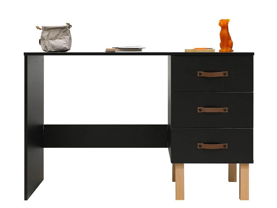 13219719-Bopita-Floris-bureau-mat-zwart-voorkant