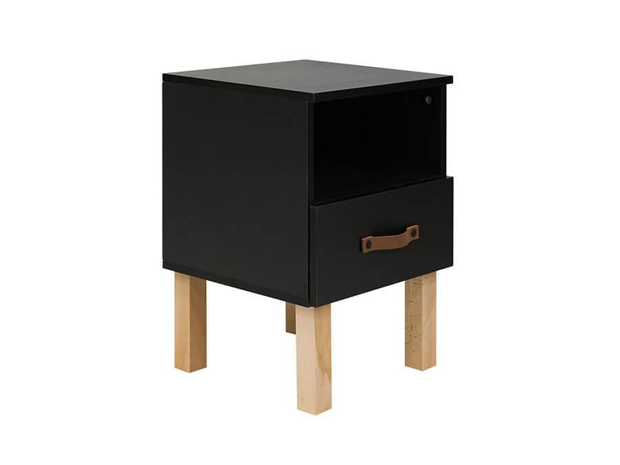 13319719-Bopita-Floris-nachtkastje-mat-zwart