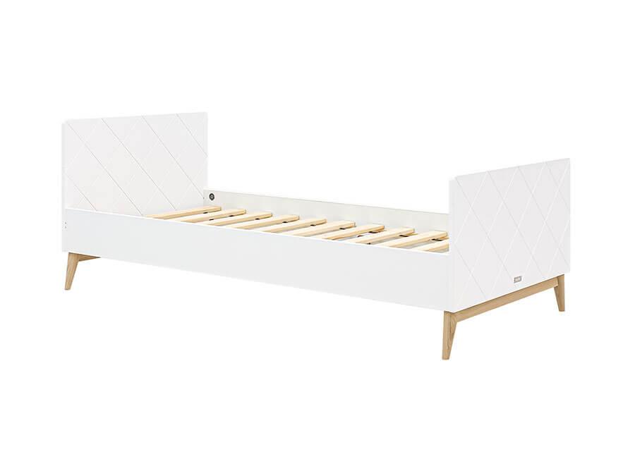 15419351-Bopita-Paris-bed-90x200-wit-eiken
