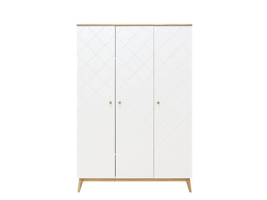 15619351-Bopita-Paris-3-deurs-kledingkast-wit-eiken-voorkant