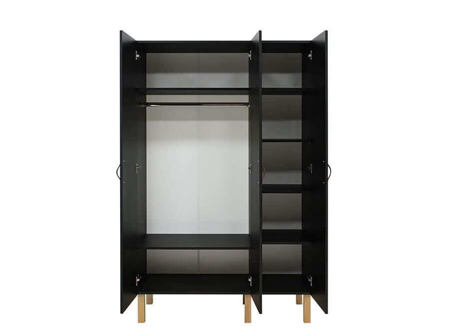 15619719-Bopita-Floris-3-deurs-kledingkast-mat-zwart-binnenkant