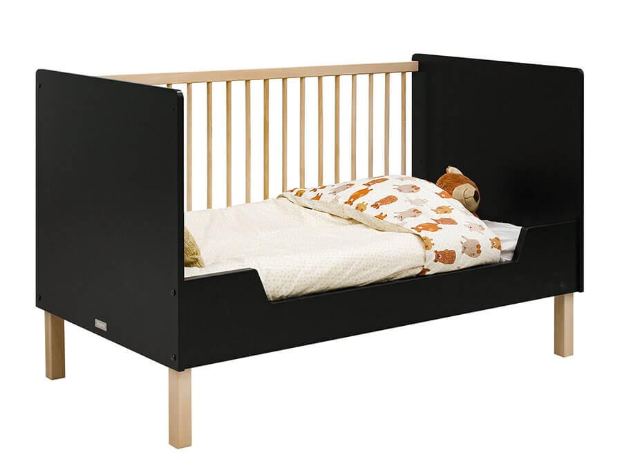 16319719-Bopita-Floris-bedbank-70x140-mat-zwart-bedbank-opgemaakt