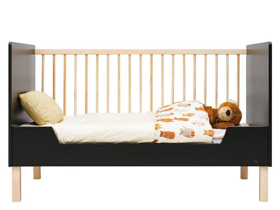 16319719-Bopita-Floris-bedbank-70x140-mat-zwart-bedbank-zijkant