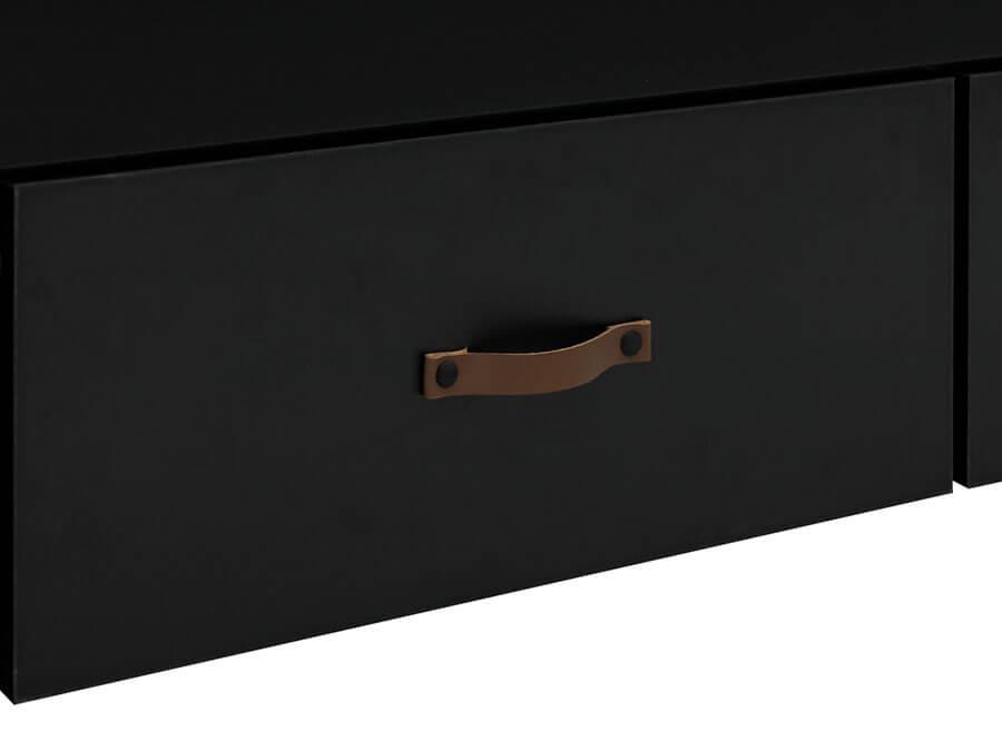 26919719-Bopita-Floris-bedbank-90x200-mat-zwart-handgreep-lade