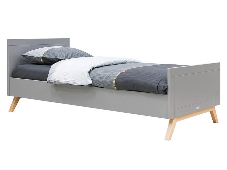 15418869-Bopita-Fenna-bed-90x200-grijs-opgemaakt