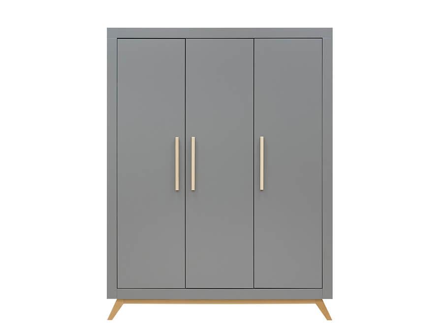 15618869-Bopita-Fenna-3-deurs-kledingkast-grijs-voorkant