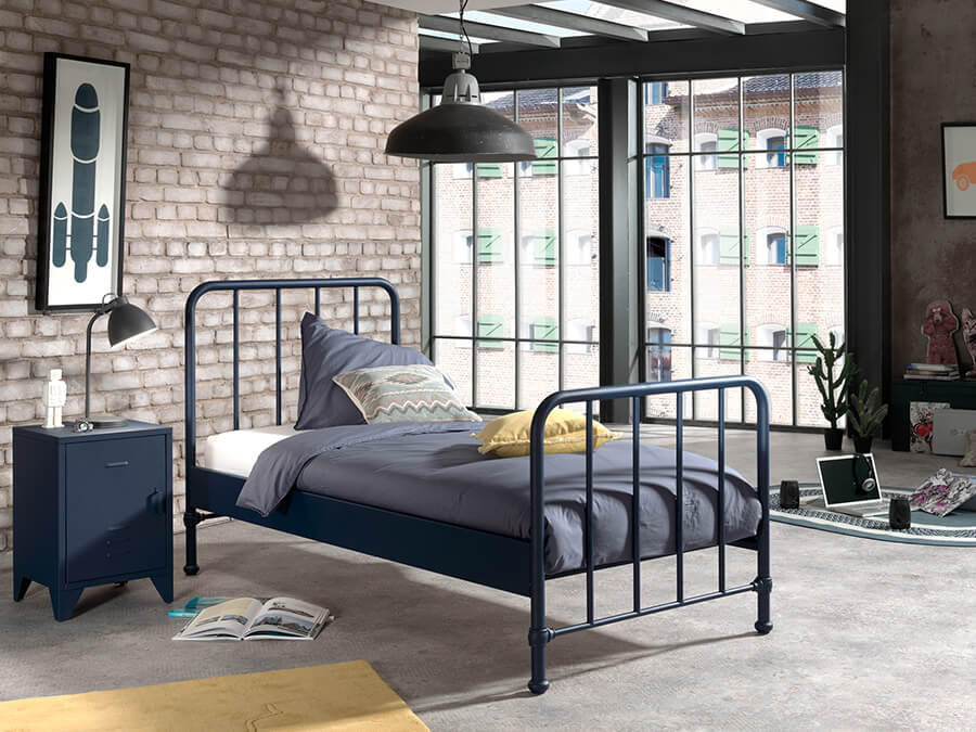 BRBE9007-Vipack-Bronxx-Bed-90X200-Blue-Denim-sfeer