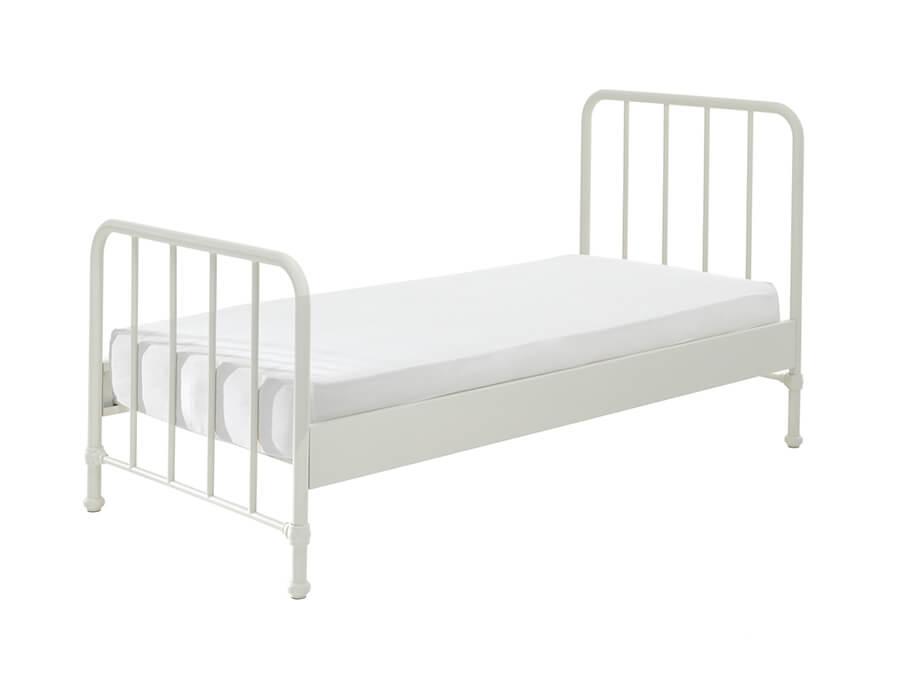 BRBE9014-Vipack-Bronxx-Bed-90X200-Wit-matras