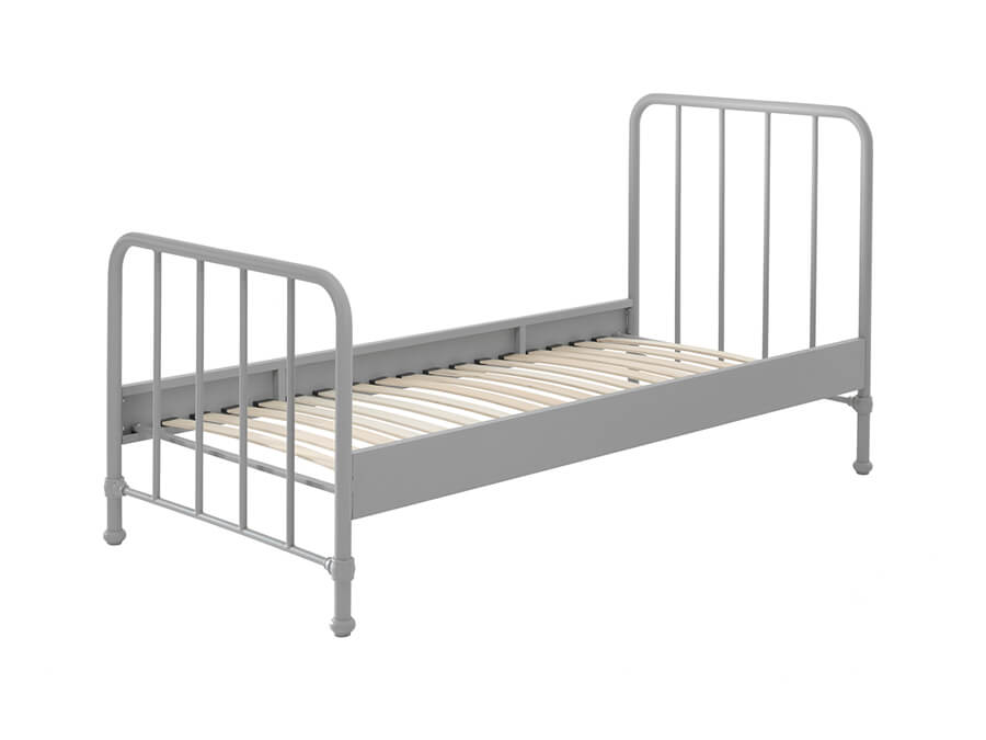 BRBE9015-Vipack-Bronxx-Bed-90X200-Rainy-Grey