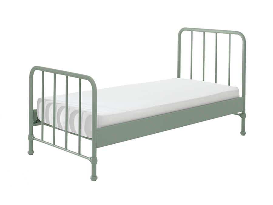 BRBE9093-Vipack-Bronxx-Bed-90X200-Olive-Green-matras