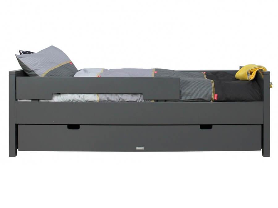 549920-Bopita-Jonne-bed-90x200-deep-grey-opgemaakt