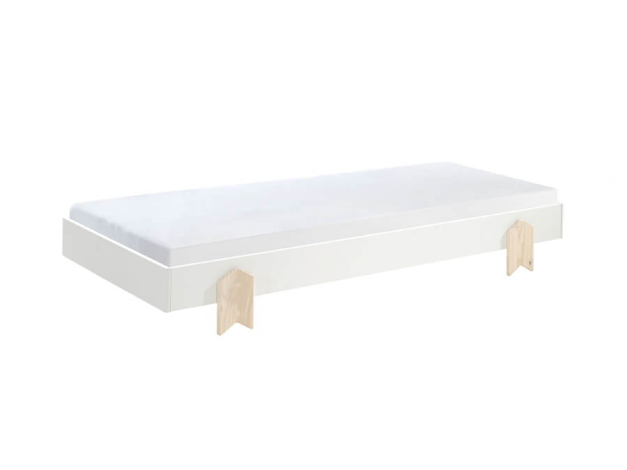 MDBE9114-Vipack-Modulo-bed-Arrow-wit-matras