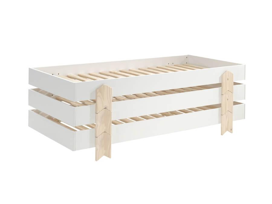 MDCO911413-Vipack-Modulo-bed-Arrow-wit-3-stuks