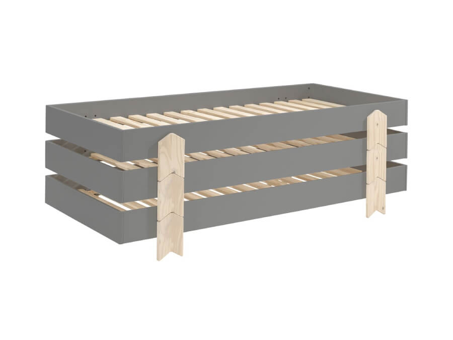 MDCO911513-Vipack-Modulo-bed-Arrow-grijs-3-stuks