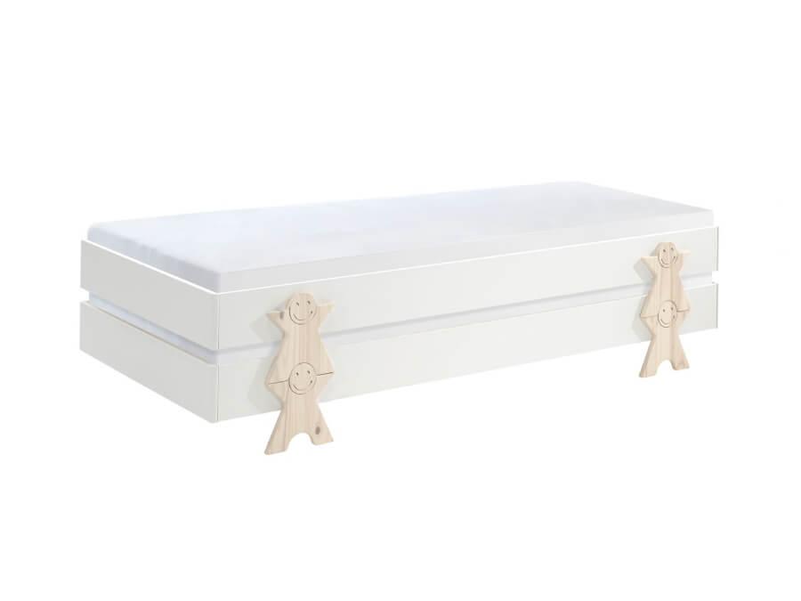 MDCO921412-Vipack-Modulo-bed-Smiley-wit-2-stuks-matras