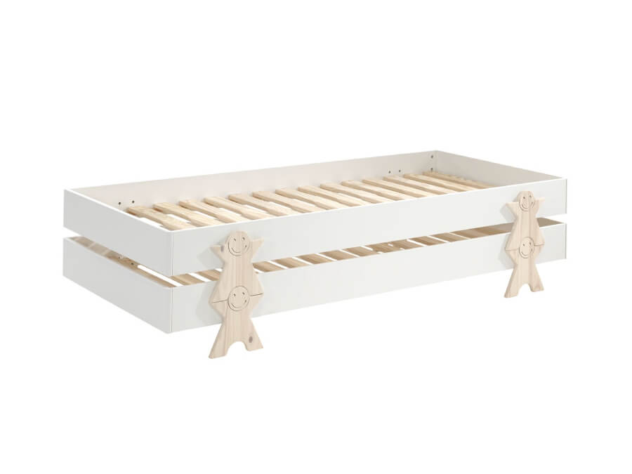 MDCO921412-Vipack-Modulo-bed-Smiley-wit-2-stuks