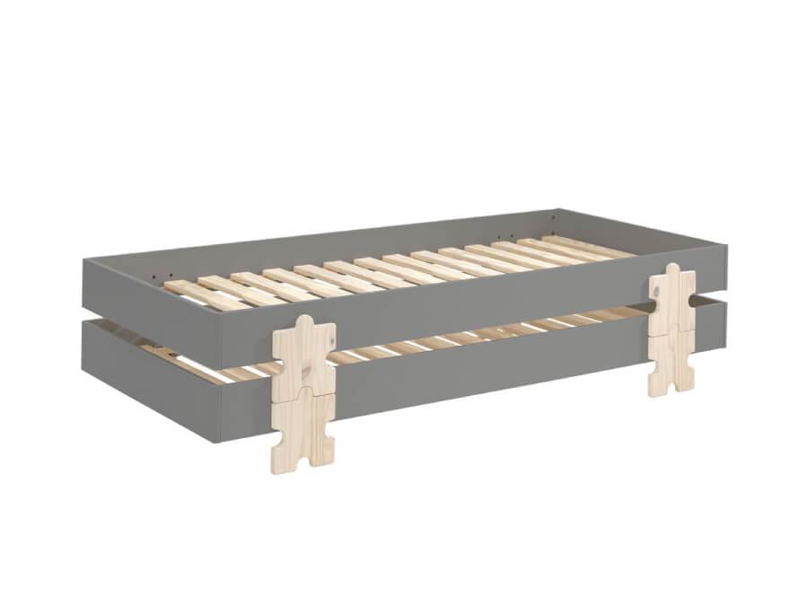 MDCO931512-Vipack-Modulo-bed-Puzzle-grijs-2-stuks
