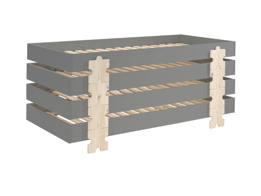 MDCO931514-Vipack-Modulo-bed-Puzzle-grijs-4-stuks