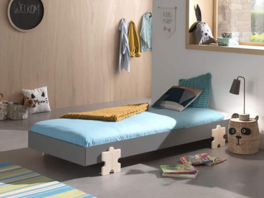 Vipack-Modulo-bed-Puzzle-grijs-sfeer