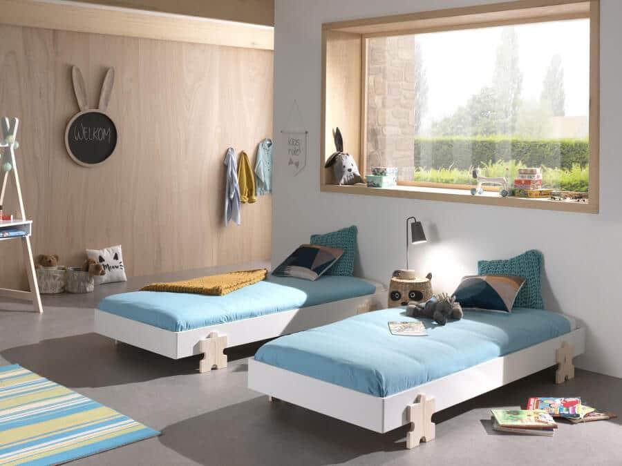 Vipack-modulo-puzzle-wit-twee-bedden
