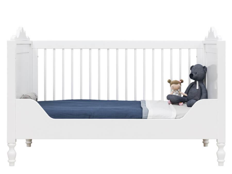 bopita bedbank 70x140 belle wit ledikant bedbank