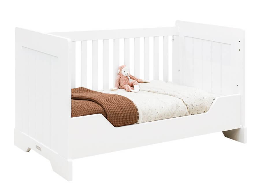 bopita bedbank 70x140 narbonne wit peuterbed