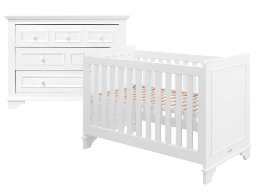 bopita charlotte 2 delige babykamer wit