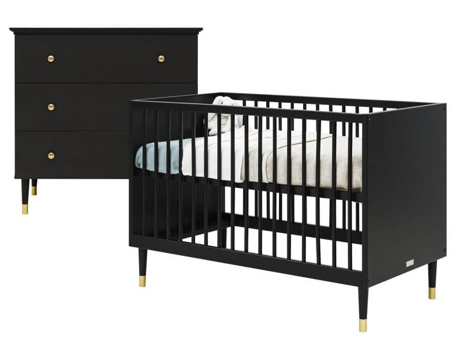 bopita-cloë-2-delige-babykamer-mat-zwart