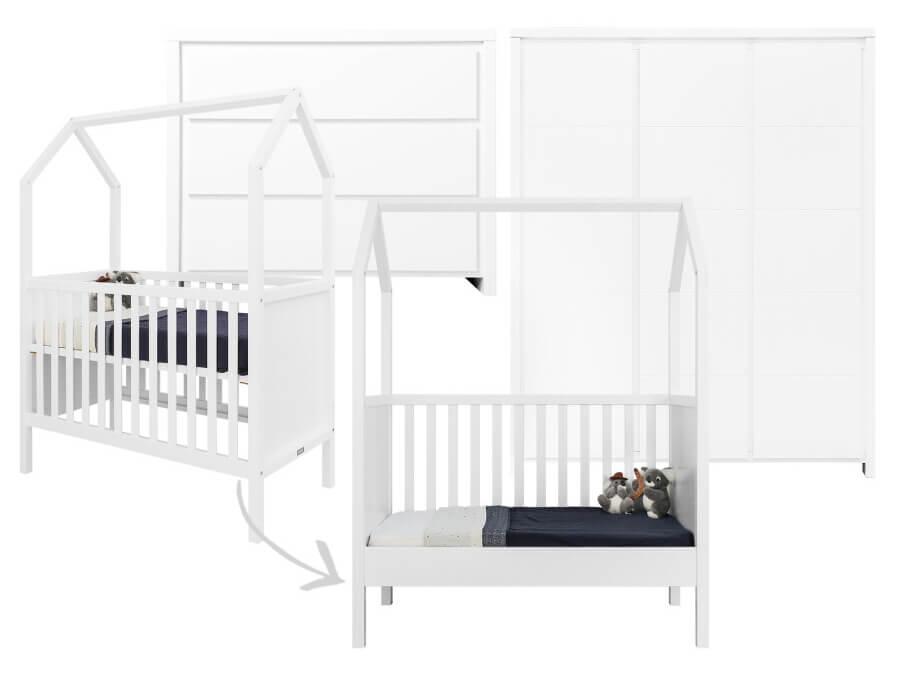 bopita-my-first-house-camille-3-delige-babykamer-wit