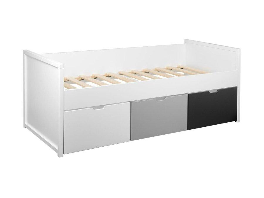 0101Q001 Quax Mini Mezzanine bed 90x200 wit bodem