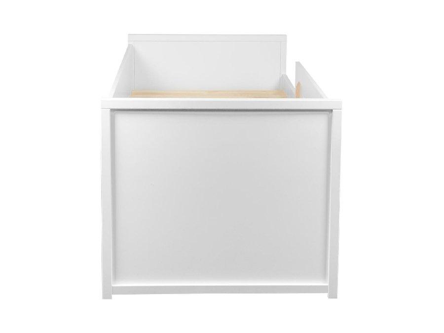 0101Q001 Quax Mini Mezzanine bed 90x200 wit hoofdbord