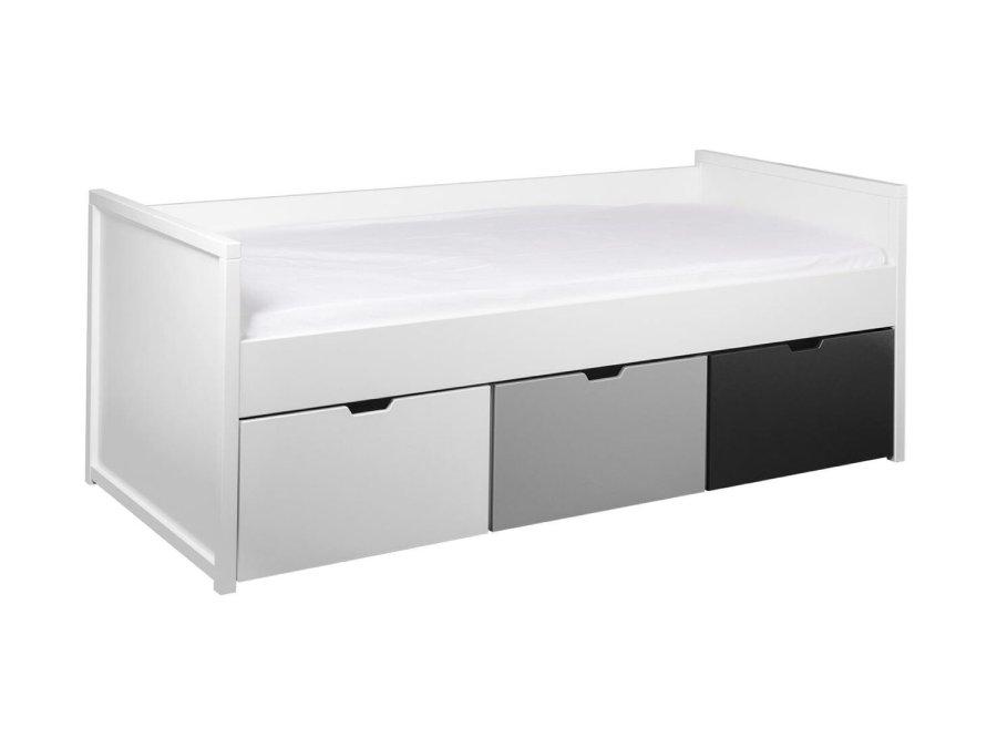 0101Q001 Quax Mini Mezzanine bed 90x200 wit