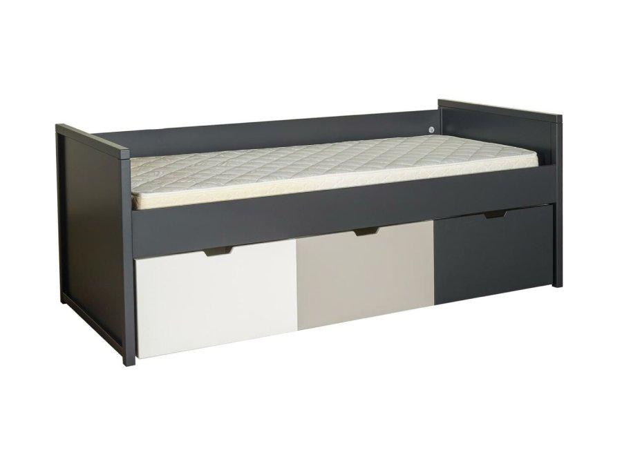 0101Q016 Quax Mini Mezzanine bed 90x200 moonshadow