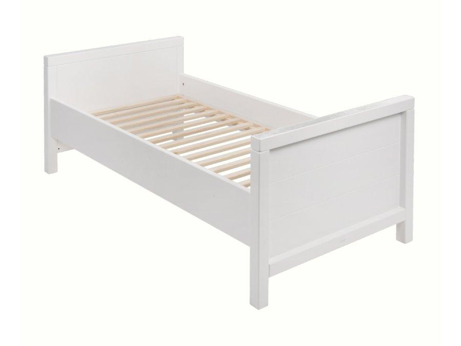 54013214XL Quax Stripes doorbouwbed 70x140 wit bed