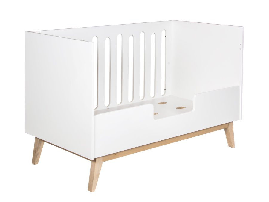 54014122XL Quax Trendy ombouwbed 70x140 white bedrail