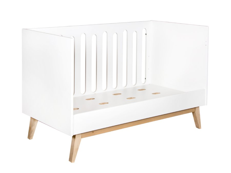 54014122XL Quax Trendy ombouwbed 70x140 white peuterbed