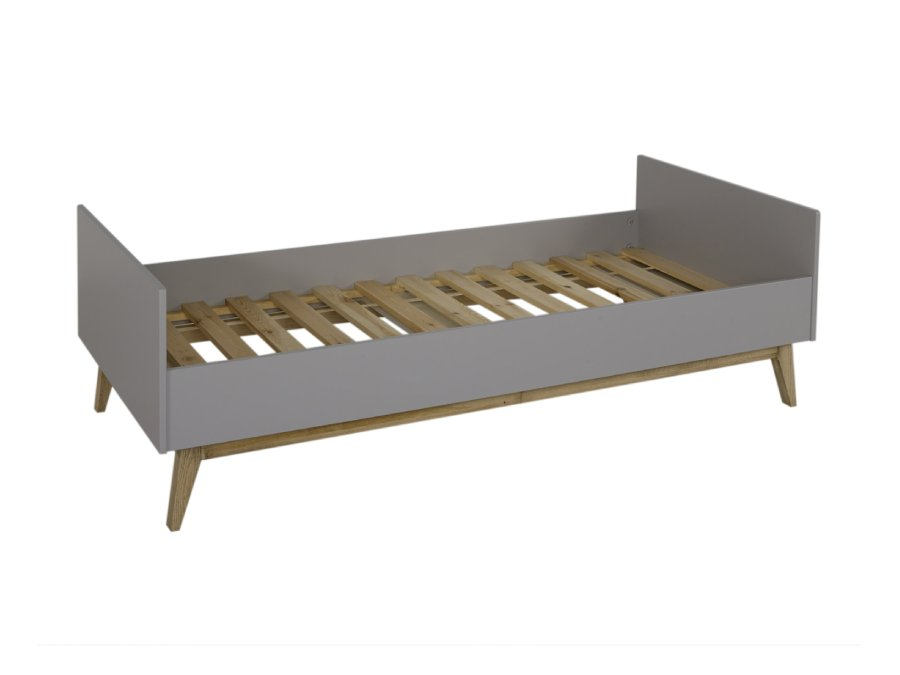 54014224 JUN Quax Trendy bed 90x200 Griffin Grey