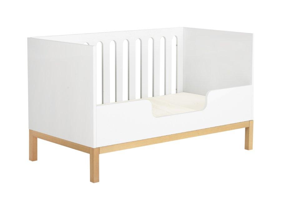 54014714XL Quax indigo ombouwbed 70x140 White bedbank bedrail