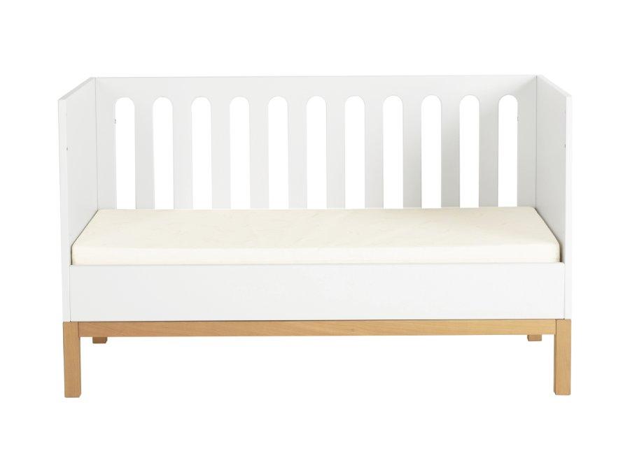 54014714XL Quax indigo ombouwbed 70x140 White bedbank matras