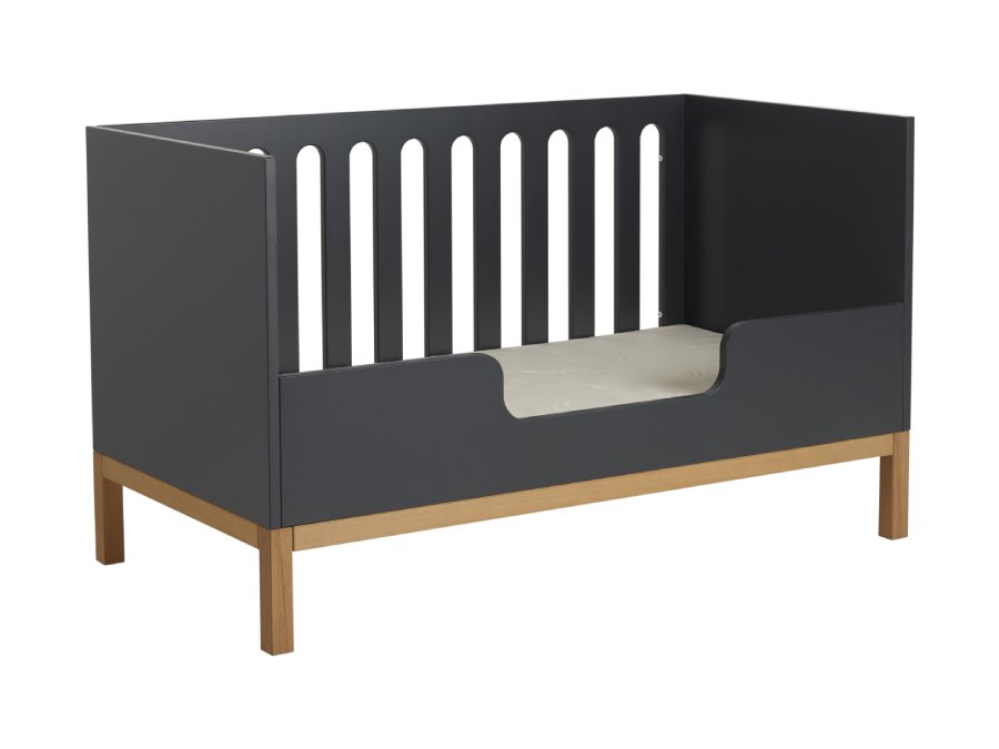 54014716XL Quax Indigo ombouwbed 70x140 Moonshadow bedbank bedrail