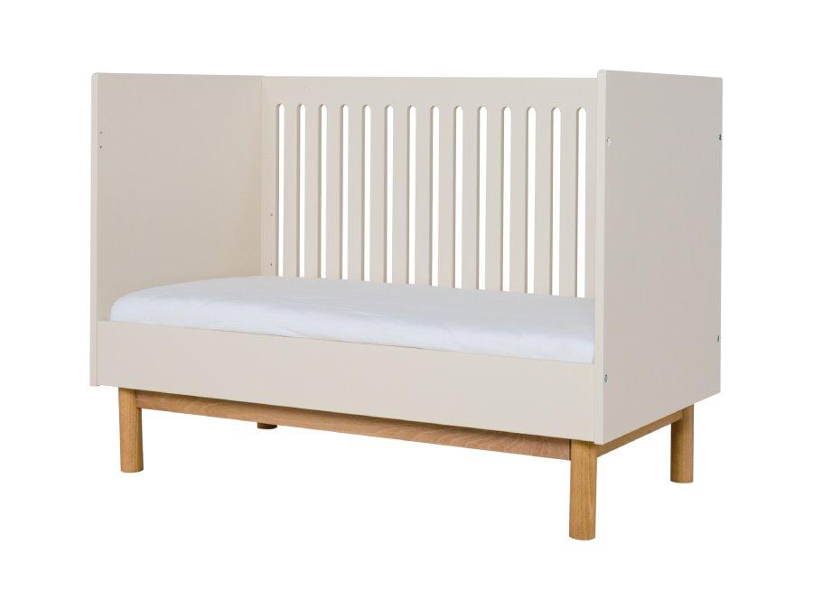 540148CY Quax Mood ombouw ledikant 60x120 Clay bedbank 3D