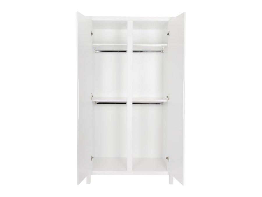 54042414 Quax Stripes 2 deurs kledingkast wit binnenkant