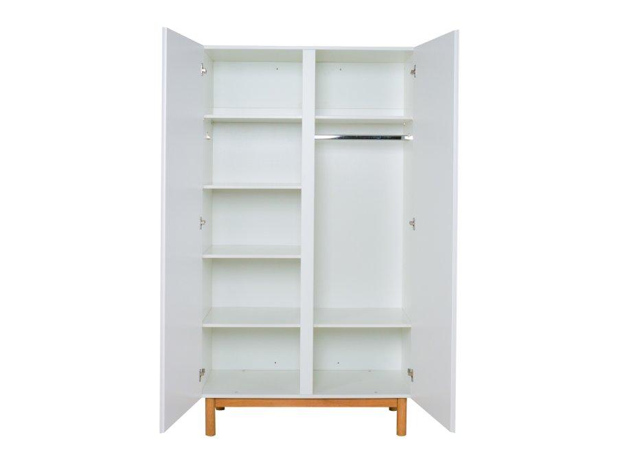 54044822 Quax Mood 2 deurs kledingkast wit open
