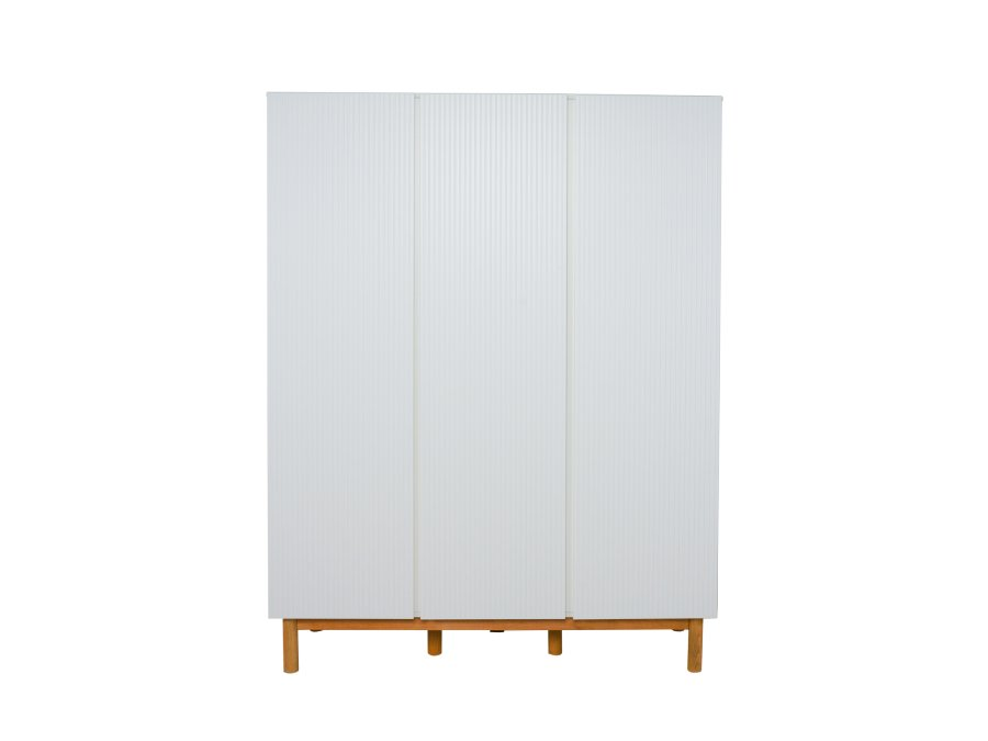 54044822XL Quax Mood 3 deurs kledingkast wit