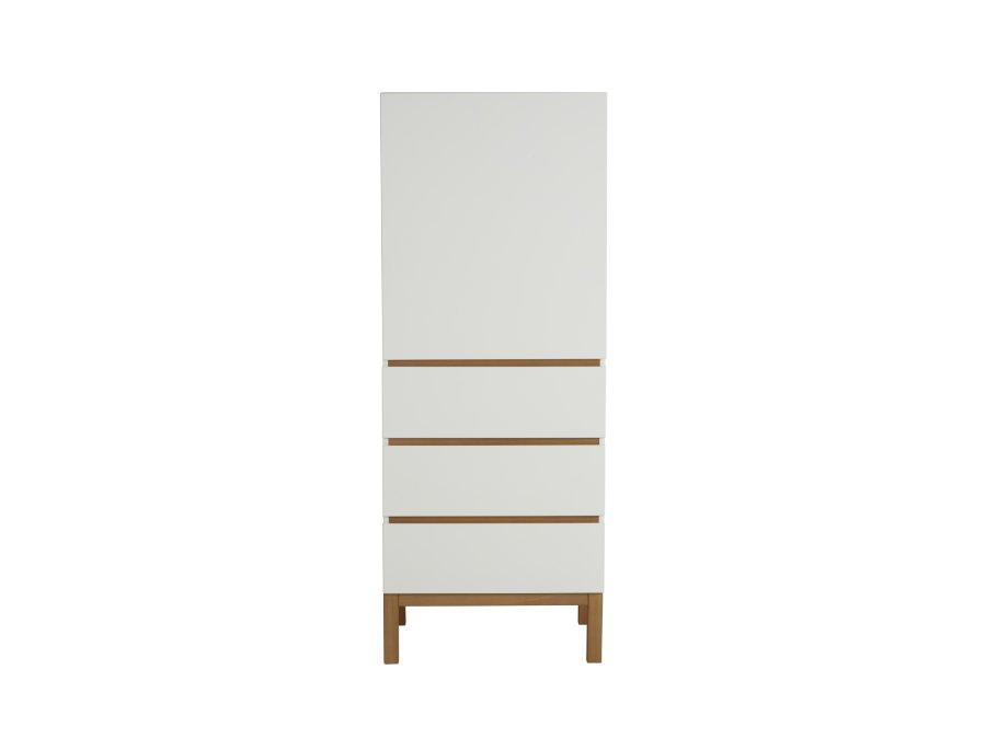 54045414 1D Quax Indigo 1 deurs kledingkast White