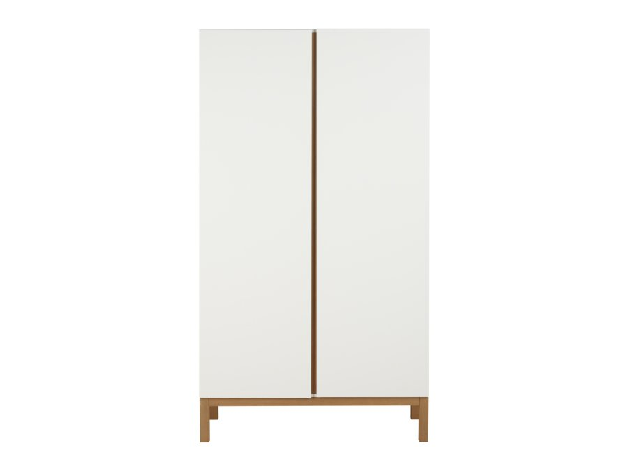 54045414 2D Quax Indigo 2 deurs kledingkast White belichting