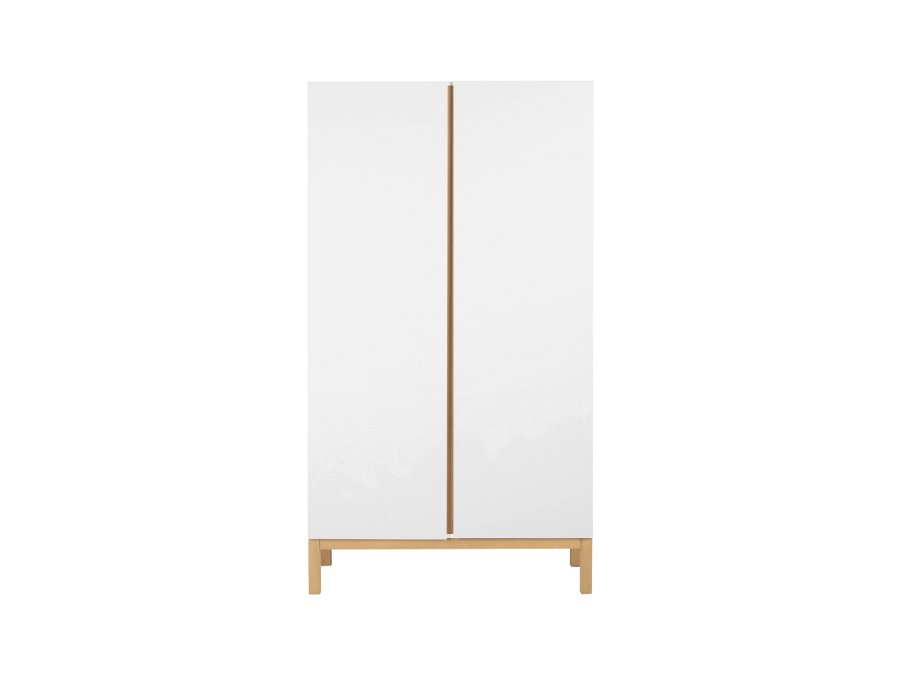 54045414 2D Quax Indigo 2 deurs kledingkast White