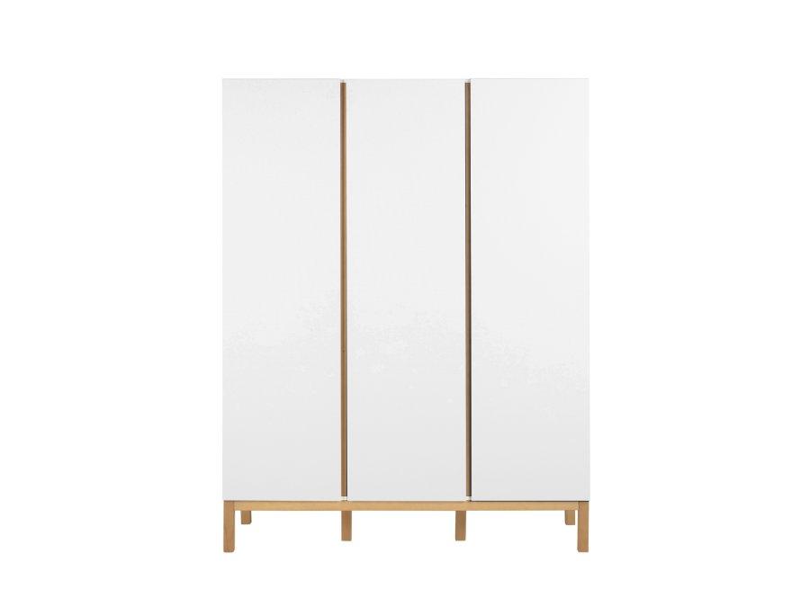 54045414 3D Quax Indigo 3 deurs kledingkast White