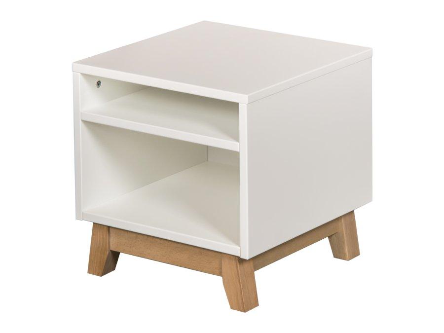 54051822 Quax Trendy nachtkastje white 3D