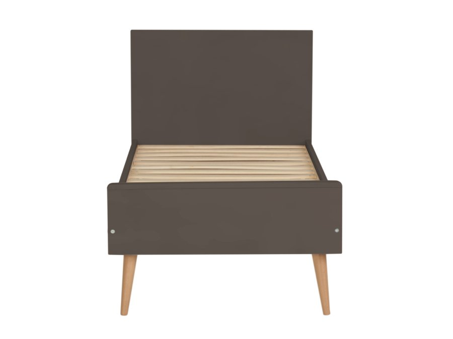 54F01 01XL001 Quax Cocoon ombouwbed 70x140 Moss peuterbed voeteneinde